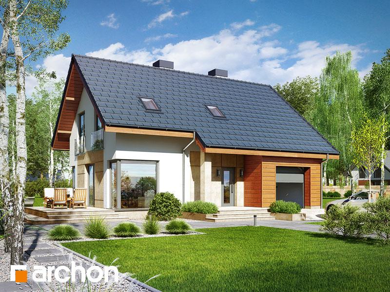 gotowy projekt Dom w żurawkach 3 (T) widok 1