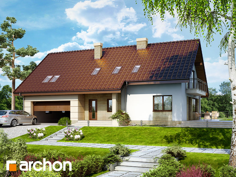 projekt Dom w idaredach 2 (G2) widok 1