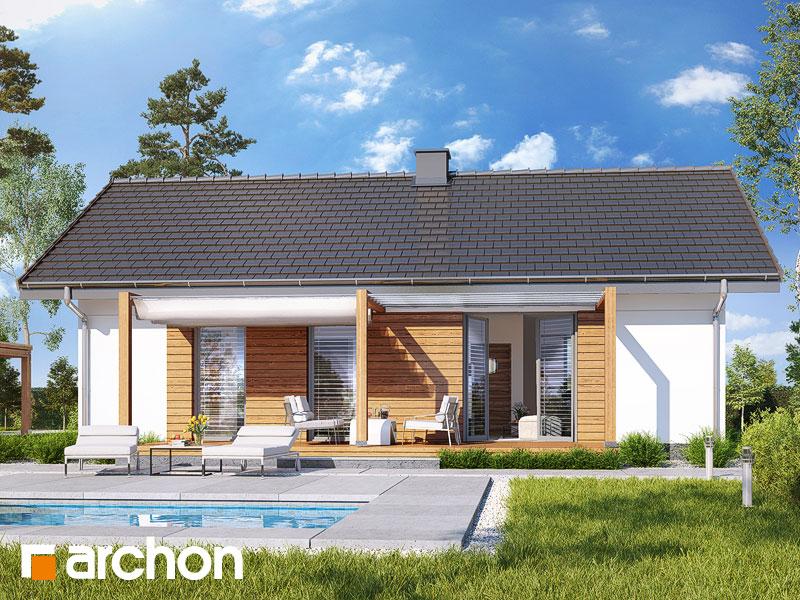 gotowy projekt Dom w kruszczykach 3 (A) widok 1