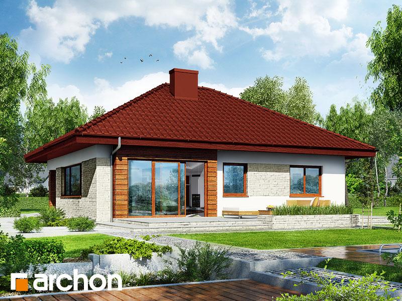 gotowy projekt Dom w lilakach 2 (G2) widok 1