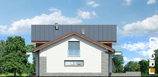 Elewacja boczna projekt dom w budlejach ver 2  265