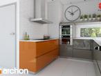 projekt Dom w budlejach Aranżacja kuchni 1 widok 2