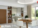projekt Dom w budlejach Aranżacja kuchni 2 widok 1