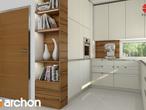 projekt Dom w budlejach Aranżacja kuchni 2 widok 2