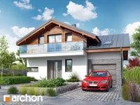 projekt Dom w budlejach widok 1