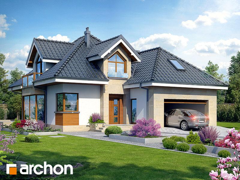 Projekt Domu Dom W Rukoli G2n Archon