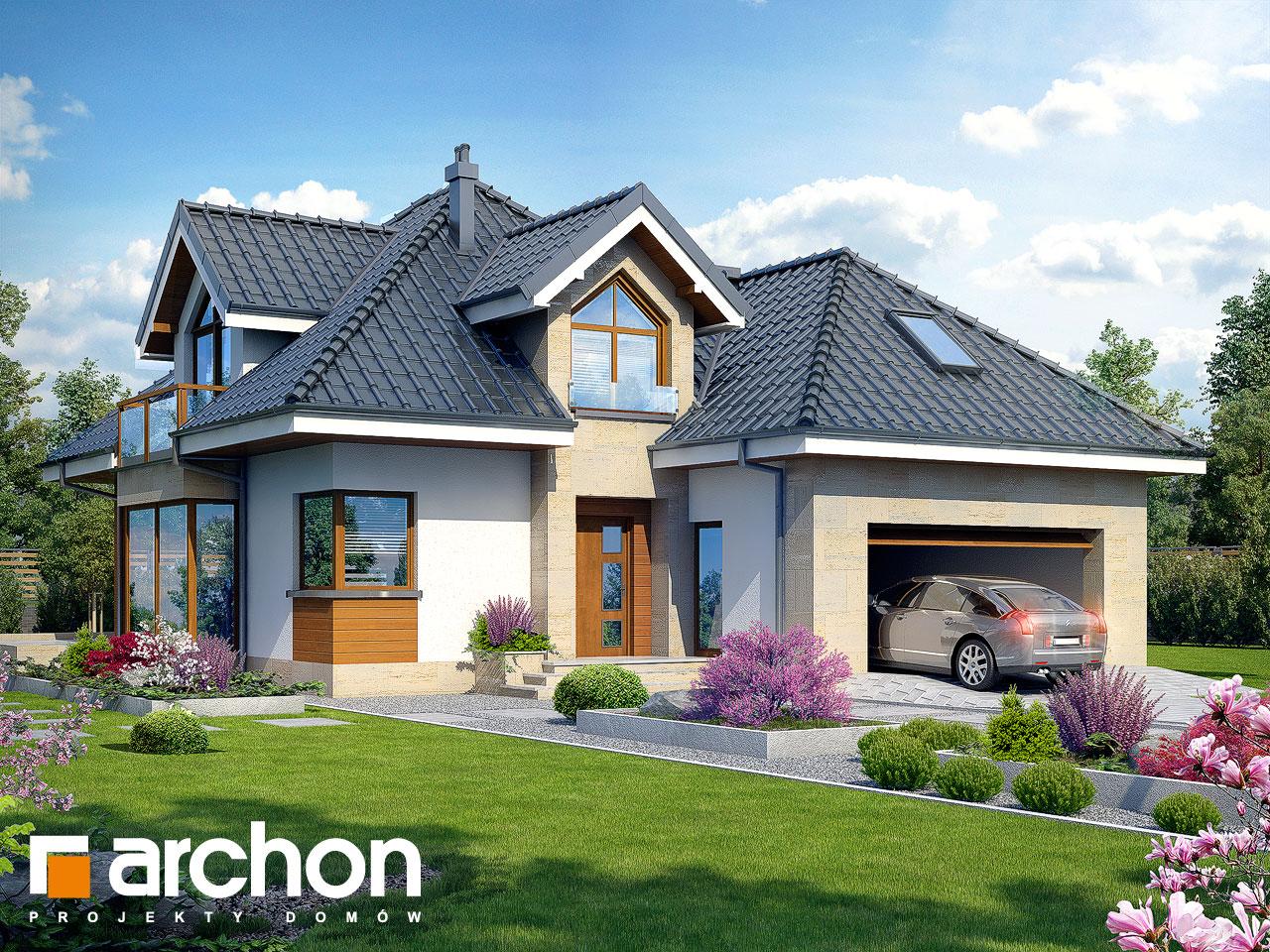 M Bel G Rtner projekt domu dom w rukoli g2n archon