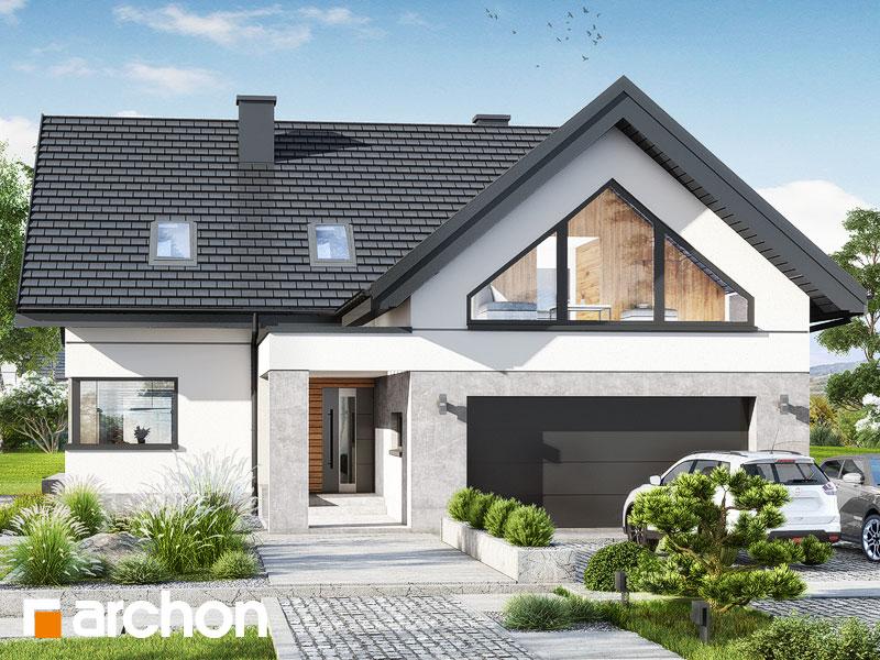 gotowy projekt Dom w jaskierkach 5 (G2) widok 1