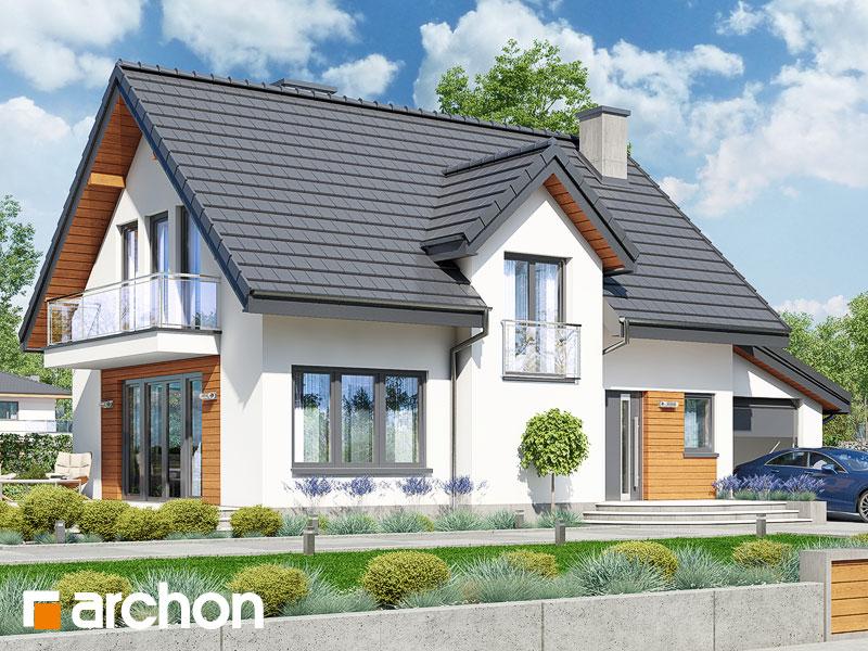 gotowy projekt Dom w lukrecji (G) widok 1