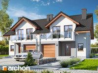 Widok 1 projekt blizniak w jednej dokumentacji dom w klematisach 21 b ver 2 1575373400  259