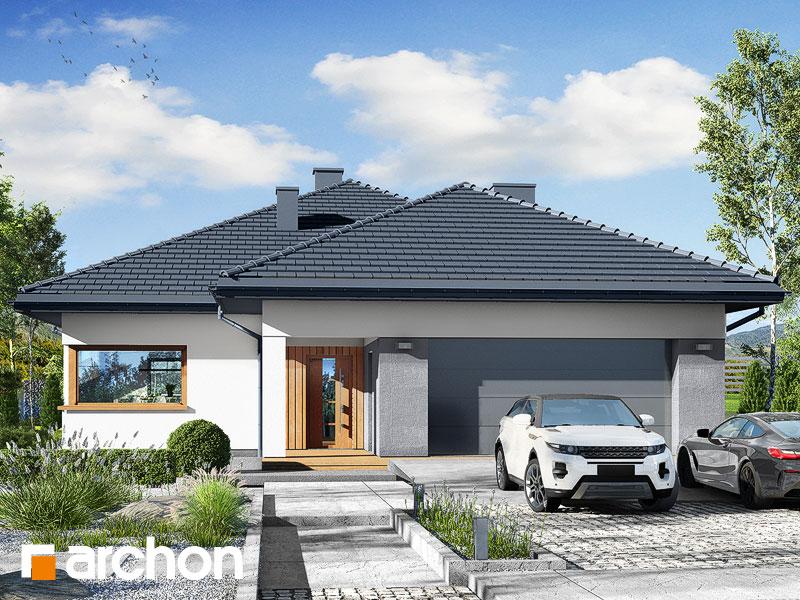 gotowy projekt Dom w renklodach 7 (G2) widok 1