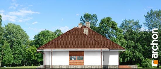 Elewacja boczna projekt dom w alwach 2 g2  265