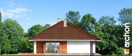 Elewacja boczna projekt dom w alwach 2 g2  266