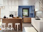 projekt Dom w alwach 2 (G2) Wizualizacja kuchni 1 widok 1