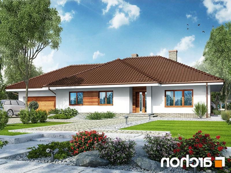 Lustrzane odbicie 1 projekt dom w alwach 2 g2  289lo