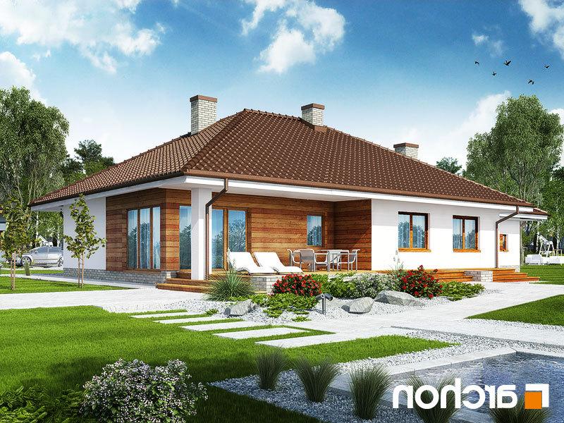 Lustrzane odbicie 2 projekt dom w alwach 2 g2  290lo