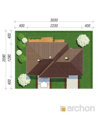 projekt Dom w alwach 2 (G2) sytuacja