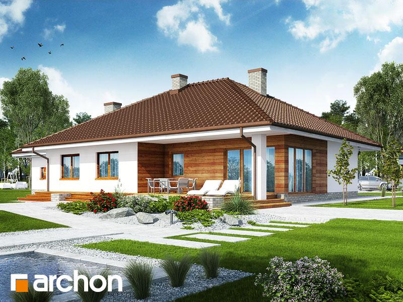 Widok 2 projekt dom w alwach 2 g2  290