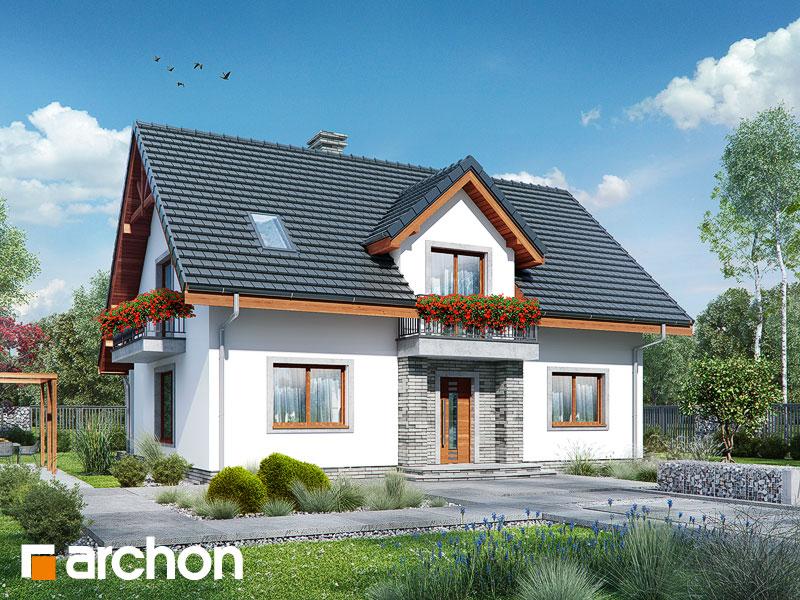 gotowy projekt Dom w lucernie 7 widok 1