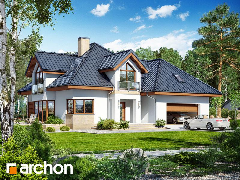 gotowy projekt Dom w rukoli 5 (G2N) widok 1