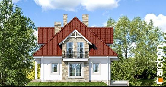 Elewacja boczna projekt dom w kaliach ver 2  266
