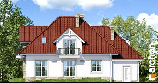 Elewacja ogrodowa projekt dom w kaliach ver 2  267