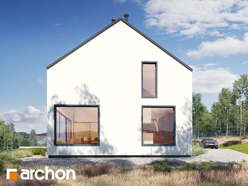 gotowy projekt Dom w callunach (G2A) widok 1