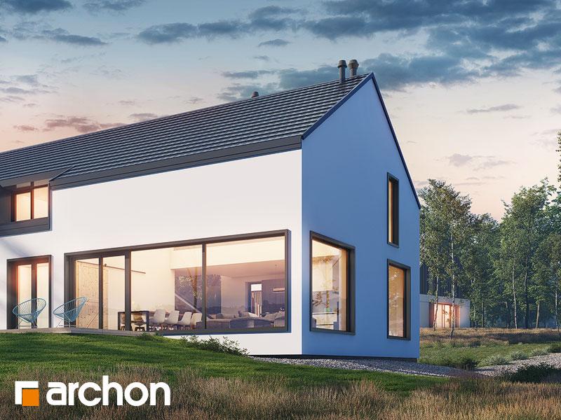 gotowy projekt Dom w callunach (G2A) widok 2