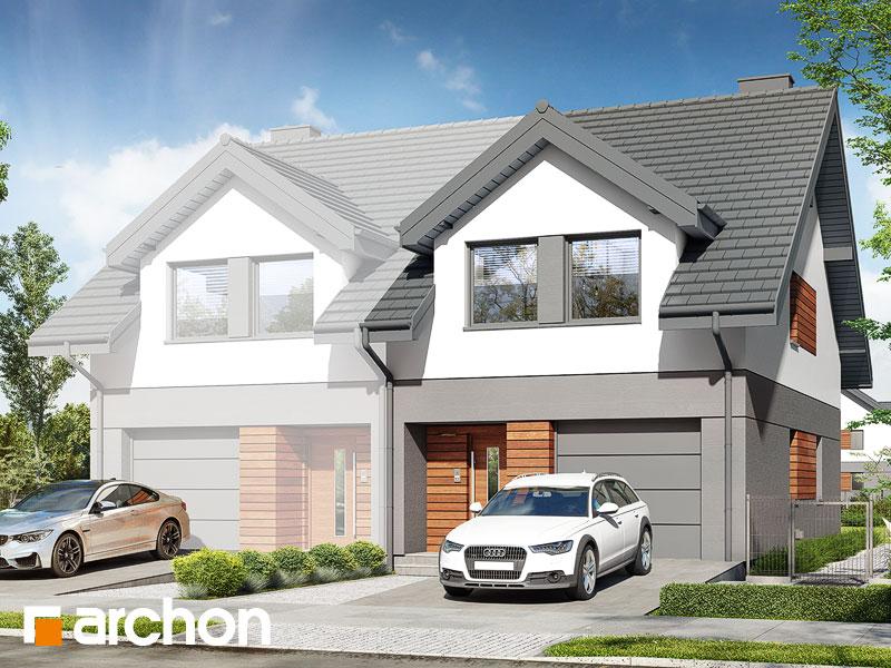 gotowy projekt Dom w riveach 5 (GB) widok 1