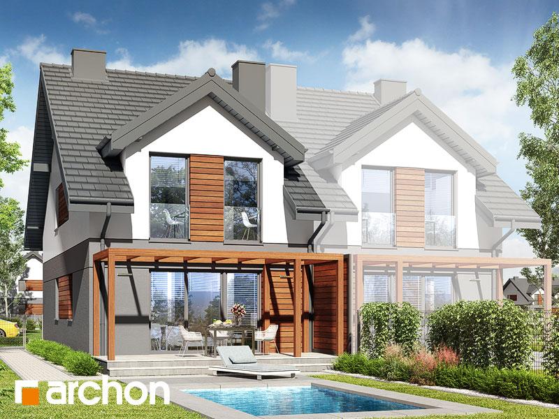 gotowy projekt Dom w riveach 5 (GB) widok 2