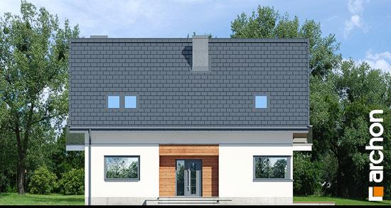 Elewacja frontowa projekt dom w jablonkach 14  264