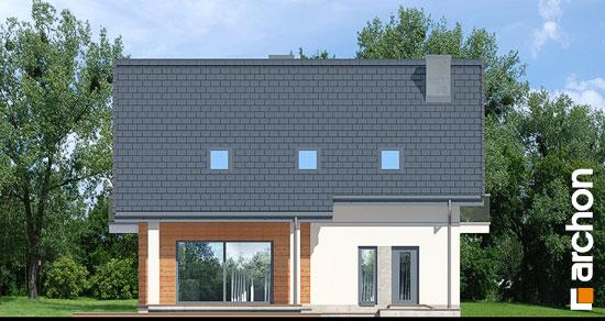 Elewacja ogrodowa projekt dom w jablonkach 14  267