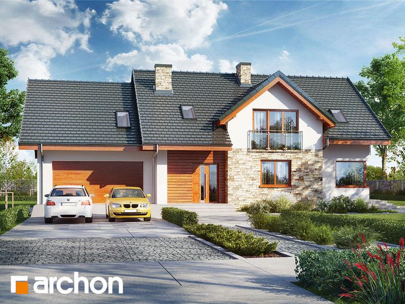 gotowy projekt Dom w kannach 4 (G2) widok 1
