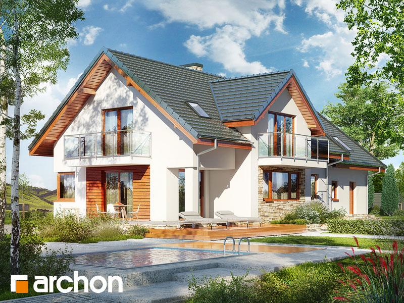 gotowy projekt Dom w kannach 4 (G2) widok 2