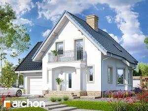 gotowy projekt Dom w winogronach 2 (P)