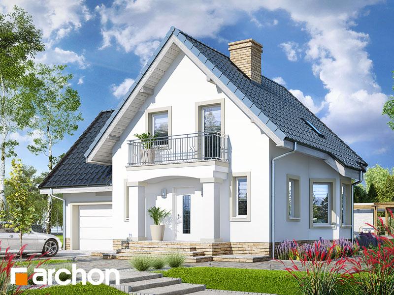 gotowy projekt Dom w winogronach 2 (P) widok 1