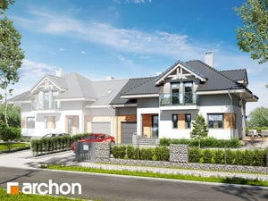 gotowy projekt Dom w mircie 4 (B)