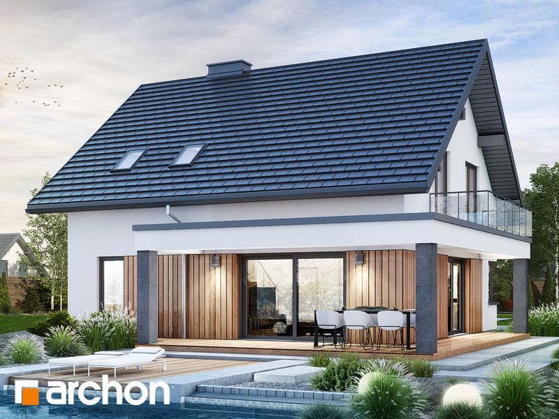 gotowy projekt Dom w nefrisach (G) widok 2
