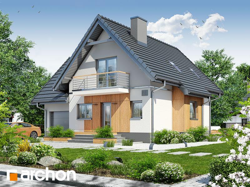 gotowy projekt Dom pod kasztanem 3 (PN) widok 1