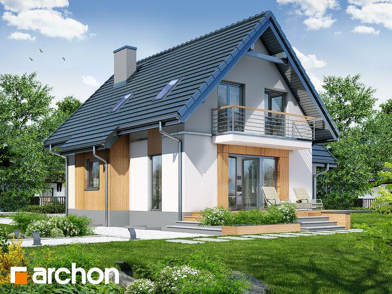 gotowy projekt Dom pod kasztanem 3 (PN) widok 2