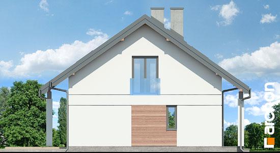Elewacja boczna projekt dom miniaturka n ver 2  266