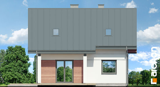 Elewacja ogrodowa projekt dom miniaturka n ver 2  267