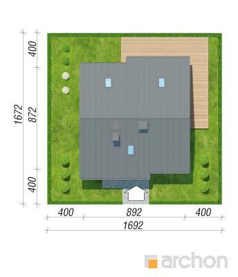 projekt Dom - Miniaturka (N) sytuacja