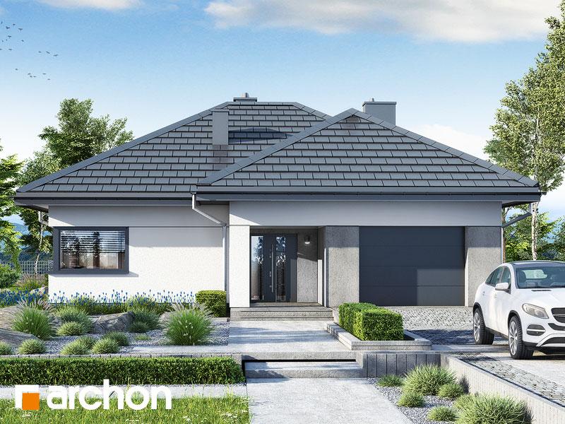 gotowy projekt Dom w renklodach 6 (G) widok 1