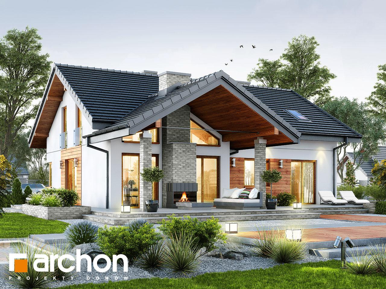 Projekt Domu Dom W Pierwiosnkach G2 Archon