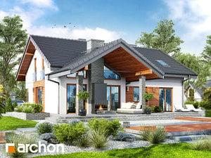 gotowy projekt Dom w pierwiosnkach (G2)