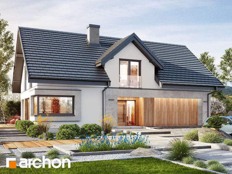 gotowy projekt Dom w zdrojówkach 6 (G2) widok 1