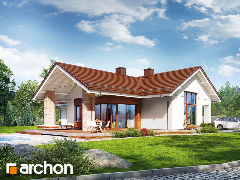 gotowy projekt Dom pod wiśniami 2 widok 1
