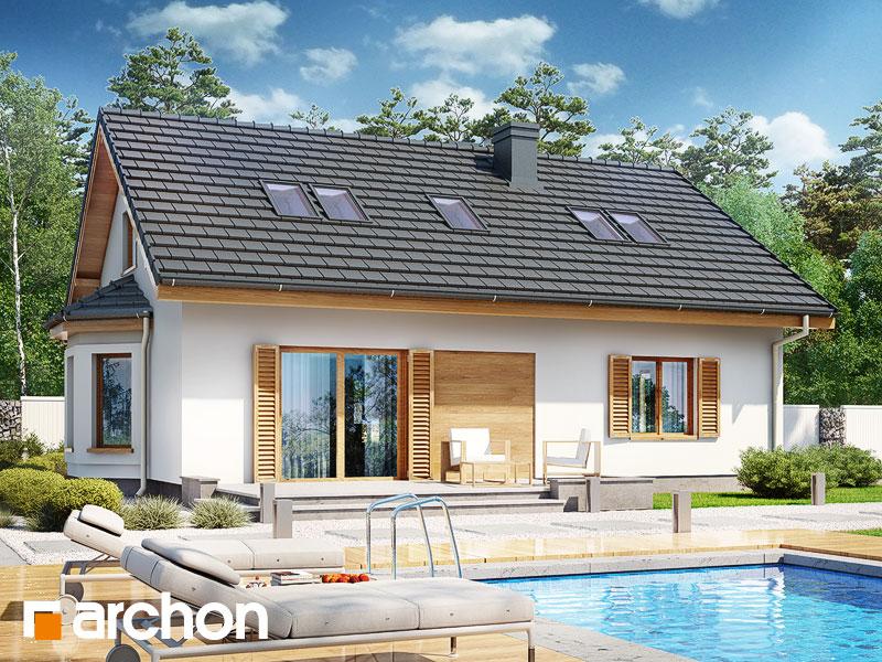 gotowy projekt Dom w jeżynach 2 (PD) widok 2