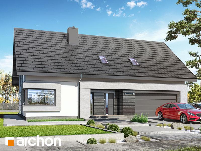 gotowy projekt Dom w goździkowcach (G2) widok 1